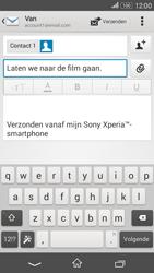 Sony E2003 Xperia E4G - e-mail - hoe te versturen - stap 9