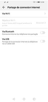 Huawei Y5 (2019) - Internet et connexion - Utiliser le mode modem par USB - Étape 7