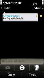 Nokia E7-00 - Internet - automatisch instellen - Stap 4