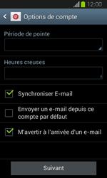Samsung I8730 Galaxy Express - E-mail - Configuration manuelle - Étape 16
