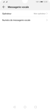 Huawei P30 - Messagerie vocale - configuration manuelle - Étape 10