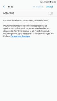 Samsung Galaxy J7 (2017) - Wi-Fi - Accéder au réseau Wi-Fi - Étape 6