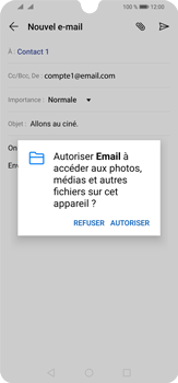 Huawei P30 Lite - E-mail - envoyer un e-mail - Étape 11