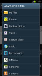 Samsung I9300 Galaxy S III - E-mail - Sending emails - Step 10