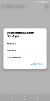 LG G6 - Android Oreo - Anrufe - Anrufe blockieren - Schritt 8