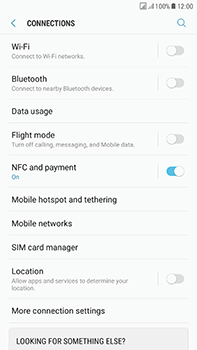 Samsung Galaxy J7 (2017) - Network - Change networkmode - Step 6