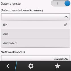BlackBerry Q10 - Internet und Datenroaming - Deaktivieren von Datenroaming - Schritt 7