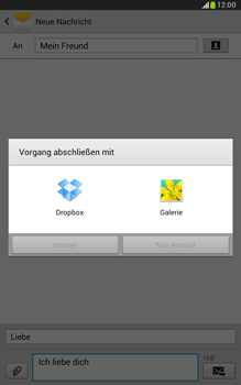 Samsung Galaxy Note 8-0 - MMS - Erstellen und senden - 17 / 24