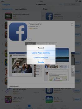 Apple iPad Air - iOS 8 - Applicazioni - Configurazione del negozio applicazioni - Fase 7