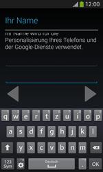 Samsung Galaxy Ace III - Apps - Einrichten des App Stores - Schritt 7