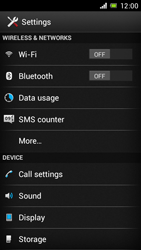 Sony Xperia J - Internet and data roaming - Manual configuration - Step 4
