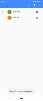 Sony Xperia 1 - Contactgegevens overzetten - delen via Bluetooth - Stap 10