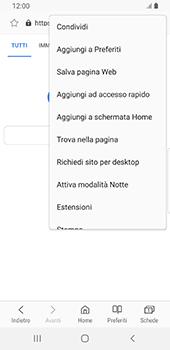 Samsung Galaxy S9 - Android Pie - Internet e roaming dati - Uso di Internet - Fase 8