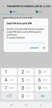 Samsung Galaxy J6 Plus - Sécuriser votre mobile - Personnaliser le code PIN de votre carte SIM - Étape 11