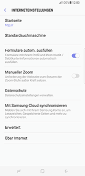 Samsung Galaxy S8 Plus - Internet - Manuelle Konfiguration - 30 / 39