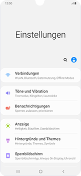 Samsung Galaxy A50 - WLAN - Manuelle Konfiguration - Schritt 4