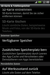 HTC Wildfire S - Fehlerbehebung - Handy zurücksetzen - 1 / 1