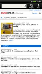 HTC One X - Internet et roaming de données - Navigation sur Internet - Étape 14