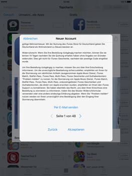 Apple iPad Pro 9.7 inch - Apps - Konto anlegen und einrichten - 20 / 35
