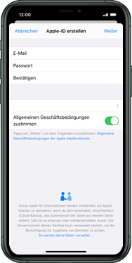 Apple iPhone XS - iOS 13 - Apps - Einrichten des App Stores - Schritt 11