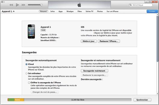 Apple iPhone XR - Premiers pas - Synchroniser avec votre ordinateur - Étape 5