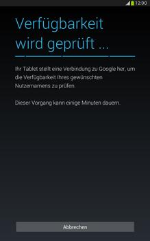 Samsung N5100 Galaxy Note 8-0 - Apps - Konto anlegen und einrichten - Schritt 9