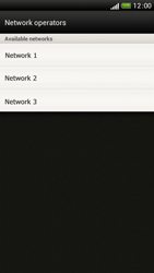 HTC One S - Network - Manual network selection - Step 9