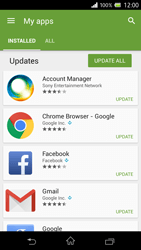 Sony Xperia Z - Applications - How to check for app-updates - Step 6