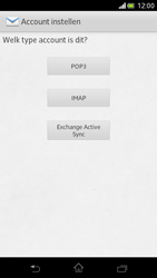 Sony LT30p Xperia T - e-mail - handmatig instellen - stap 6