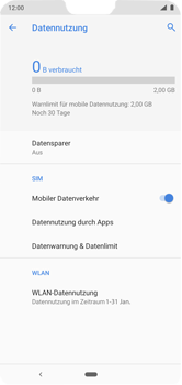 Nokia 6.1 Plus - Android Pie - Internet - Manuelle Konfiguration - Schritt 7