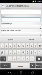 Sony Xperia Z1 - E-Mail - Konto einrichten - Schritt 10
