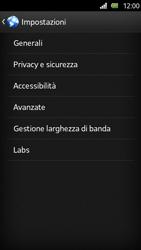 Sony Xperia U - Internet e roaming dati - Configurazione manuale - Fase 19