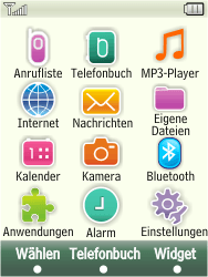 Samsung F480-TouchWiz - Internet - Manuelle Konfiguration - Schritt 4
