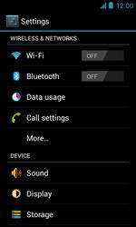 ZTE Blade III - Internet and data roaming - Disabling data roaming - Step 4