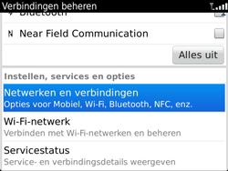 BlackBerry 9900 Bold Touch - WiFi - Handmatig instellen - Stap 5
