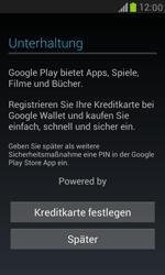 Samsung I8190 Galaxy S3 Mini - Apps - Konto anlegen und einrichten - Schritt 12