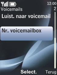 Nokia 6700 classic - Voicemail - handmatig instellen - Stap 6