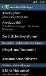 Samsung G3500 Galaxy Core Plus - Anrufe - Rufumleitungen setzen und löschen - Schritt 6