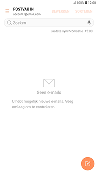 Samsung Galaxy J4 - E-mail - hoe te versturen - Stap 5