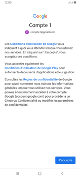 Samsung Galaxy A80 - E-mails - Ajouter ou modifier votre compte Gmail - Étape 11