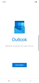 Samsung Galaxy Note 10 Plus 5G - E-mail - 032c. Email wizard - Outlook - Étape 5