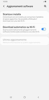 Samsung Galaxy Note9 - Android Pie - Software - Installazione degli aggiornamenti software - Fase 6