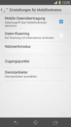 Sony Xperia Z1 Compact - Netzwerk - Manuelle Netzwerkwahl - Schritt 6