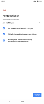 Sony Xperia 5 - E-Mail - 032c. Email wizard - Outlook - Schritt 11