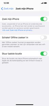 Apple iphone-11-pro-model-a2215 - Beveiliging en ouderlijk toezicht - Zoek mijn iPhone inschakelen - Stap 13