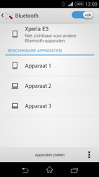 Sony Xperia E3 - Bluetooth - koppelen met ander apparaat - Stap 8