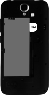 Huawei Y5 - SIM-Karte - Einlegen - Schritt 4