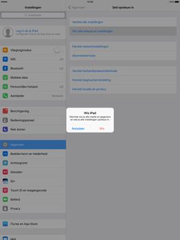 Apple iPad Pro 12.9 inch (2nd generation) - Resetten - Fabrieksinstellingen terugzetten - Stap 5