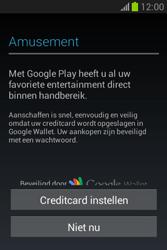 Samsung S6790 Galaxy Fame Lite - apps - account instellen - stap 24