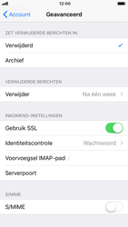 Apple iPhone 7 - iOS 12 - E-mail - Account instellen (IMAP met SMTP-verificatie) - Stap 24